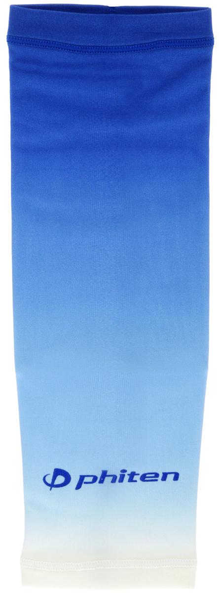 Рукав силовой Phiten X30, цвет: синий. Размер S (19-25 см). SL528103SL528103Силовой рукав Phiten X30, выполненный из 85% полиэстера и 15% полиуретана, идеально подходит для поддержки и увеличения силы мышц (плеча/предплечия) спортсменов. Рукав снимает мышечное напряжение, повышает выносливость и силу мышц. Он мягко фиксирует суставы, но при этом абсолютно не стесняет движения.Пропитка Aqua Titan с фактором X30 увеличивает эластичность мышц и связок, а также хорошо поглощает и испарять пот, что позволяет продлить ощущение комфорта при тренировках.Изделие специально разработано таким образом, чтобы соответствовать форме руки и обеспечить плотное прилегание, а благодаря инновационным материалам, рукав действительно поможет вам в процессе тяжелой тренировки или любой серьезной нагрузки.Силовой рукав Phiten X30 способствует:- улучшению циркуляции крови в организме;- разгрузке поврежденного сустава; - уменьшению усталости;- снятию излишнего напряжения и скорейшему восстановлению сил;- обеспечивает компрессионный эффект.