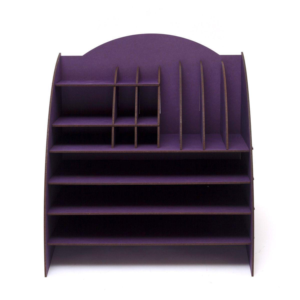 Органайзер настольный Homsu, 16 отделов, 35,5 x 32 x 34 смS03301004Настольный органайзер Homsu выполнен из МДФ и легко собирается из съемных частей. Изделие имеет 16 отделений для хранения документов, канцелярских предметов и всяких мелочей. Органайзер просто незаменим на рабочем столе, он вместителен и не занимает много места. Оригинальный дизайн дополнит интерьер дома и разбавит цвет в скучном сером офисе. Размер: 35,5 х 32 х 34 см.