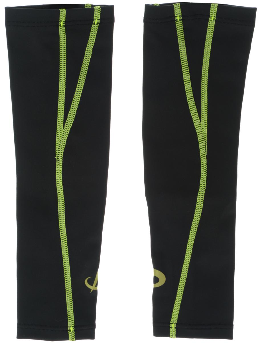 Рукав силовой Phiten X30, цвет: черный, салатовый, 2 шт, Размер S (19-25 см). SL535203AIRWHEEL Q3-340WH-BLACKСиловой рукав Phiten X30, выполненный из 85% полиэстера и 15% полиуретана, идеально подходит для поддержки и увеличения силы мышц (плеча/предплечия) спортсменов. Рукав снимает мышечное напряжение, повышает выносливость и силу мышц. Он мягко фиксирует суставы, но при этом абсолютно не стесняет движения.Благодаря пропитке Aqua Titan с фактором X30, рукав увеличивает эластичность мышц и связок, а также хорошо поглощает и испарять пот, что позволяет продлить ощущение комфорта при тренировках.Изделие специально разработано таким образом, чтобы соответствовать форме руки и обеспечить плотное прилегание, а благодаря инновационным материалам, рукав действительно помогут вам в процессе тяжелой тренировки или любой серьезной нагрузки.Силовой рукав Phiten X30 способствует:- улучшению циркуляции крови в организме;- разгрузке поврежденного сустава; - уменьшению усталости;- снятию излишнего напряжения и скорейшему восстановлению сил;- обеспечивает компрессионный эффект.Комплектация: 2 шт.
