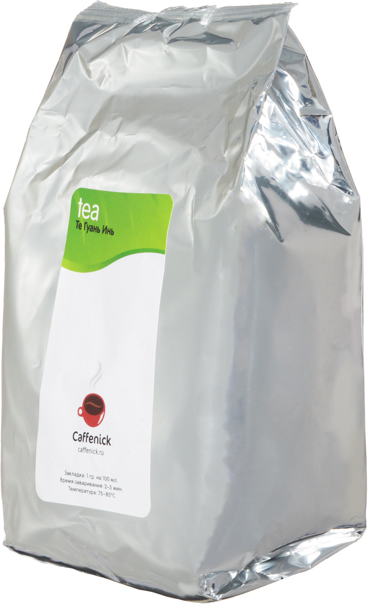 Caffenick Те Гуань Инь зеленый листовой чай, 500 г чай caffenick caffenick куртизанка 500