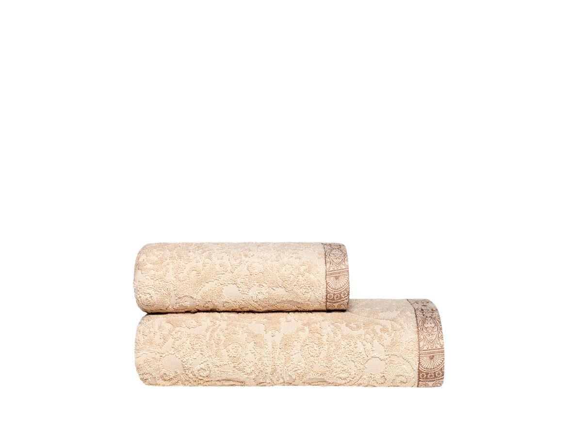Полотенце Togas Элизабет, цвет: экрю, 70 х 140 смRC-100BWCПолотенце Togas Элизабет невероятно гармонично сочетает в себе лучшие качества современного махрового текстиля. Безупречные по качеству, экологичное полотенце из 50% хлопка и 50% модала идеально заботится о вашей коже, особенно после душа, когда вы расслаблены и особо уязвимы.Деликатный дизайн полотенца Togas «Элизабет» - воплощение изысканной простоты, где на первый план выходит качество материала. Невероятно мягкое волокно модал, превосходящее по своим свойствам даже хлопок, позволяет улучшить впитывающие качества полотенца и делает его удивительно мягким. Модал - это 100% натуральное, экологически чистое целлюлозное волокно. Оно производится без применения каких-либо химических примесей, поэтому абсолютно гипоаллергенно.Полотенце Togas Элизабет, обладающее идеальными качествами, будет поднимать вам настроение.