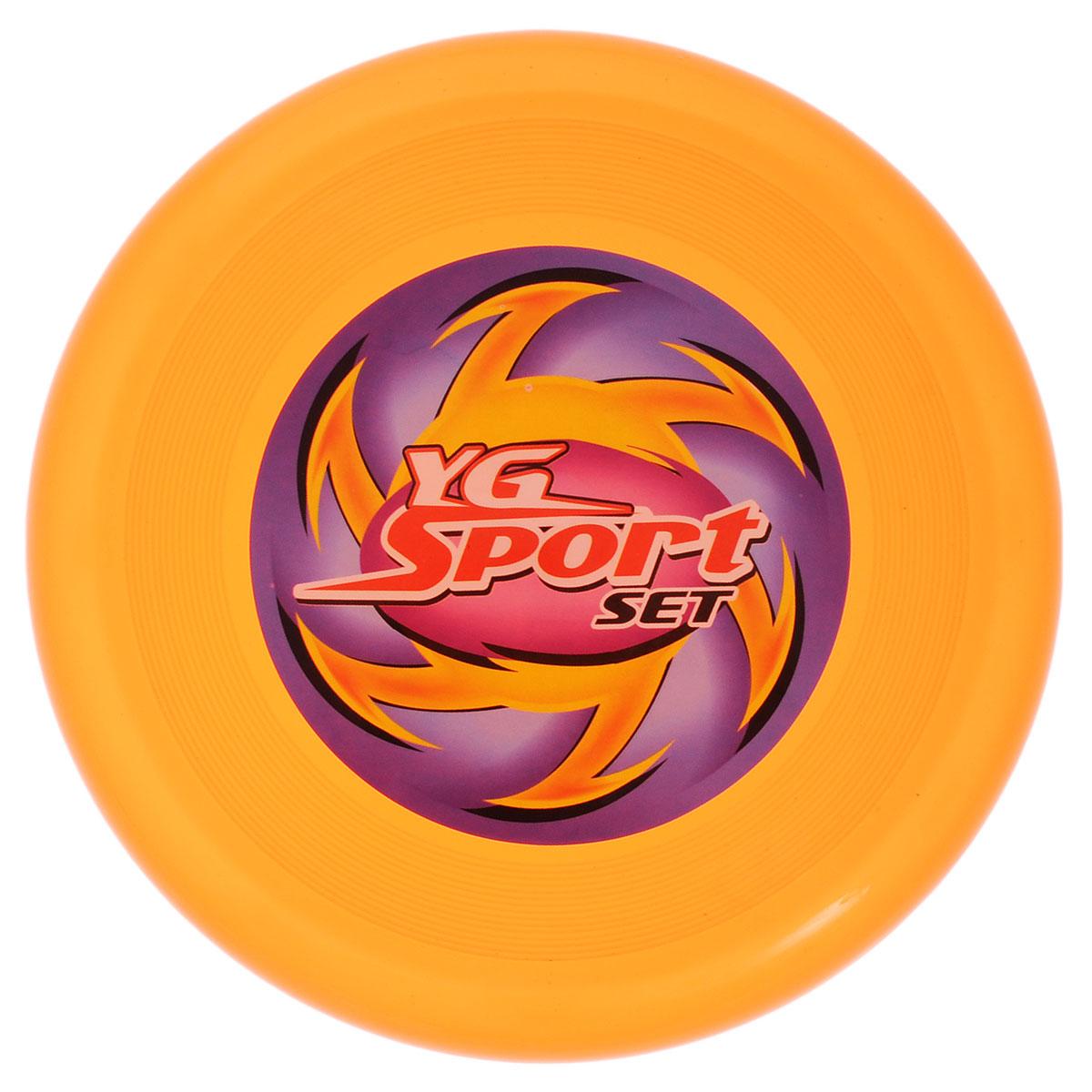 YG Sport Летающий диск цвет оранжевый