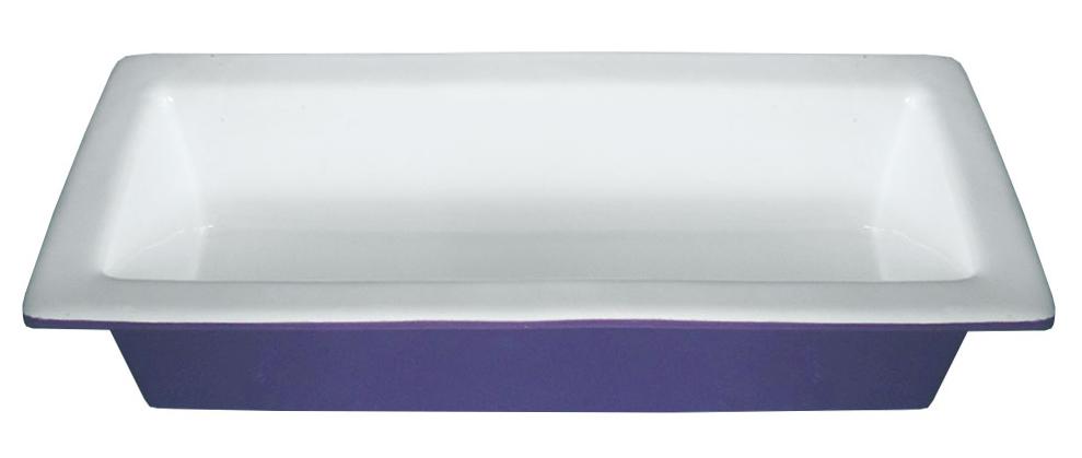 Форма для запекания Calve, прямоугольная, керамическая, цвет: белый, фиолетовый, 750 мл14-222Прямоугольная форма Calve, выполненная из высококачественной жаропрочной керамики, оснащена двумя удобными ручками. Стильный и яркий дизайн делает это изделие прекрасным украшением на любой кухне. С формой для запекания Calve процесс приготовления любого блюда станет простым и быстрым. Можно мыть в посудомоечной машине.С такой формой вы всегда сможете порадовать своих близких оригинальной выпечкой.Размер формы: 28 х12 х 6 см.
