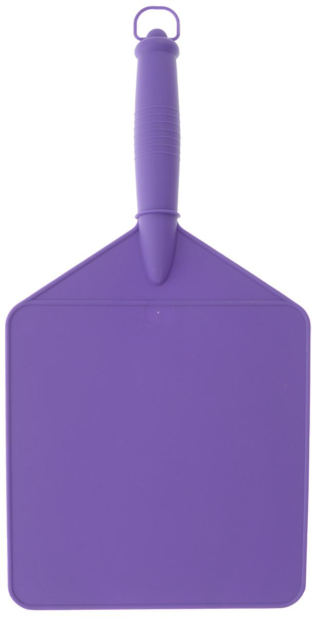 Веер для раздува огня Мультидом, цвет: фиолетовый, 39 х 19 смМТ76-29_фиолетовыйВеер Мультидом, выполненный из пластика, предназначен для раздувания огня во время приготовления блюд на открытом воздухе. Изделие можно использовать в качестве доски для нарезки овощей и фруктов.Размер рабочей части: 19 х 19,5 см.