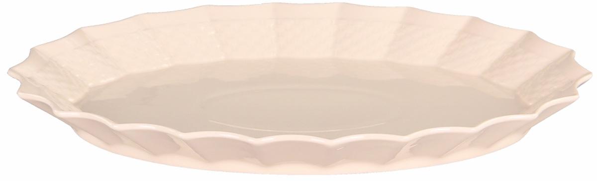 Блюдо Patricia Грейс, диаметр 30 см115510Оригинальное блюдо Patricia Грейс - прекрасное дополнение праздничного стола. Изделие, выполненное из высококачественного фарфора, предназначено для подачи горячих блюд и гарниров. Благодаря нетривиальному дизайну изделие несет не только функциональную, но и эстетическую нагрузку.