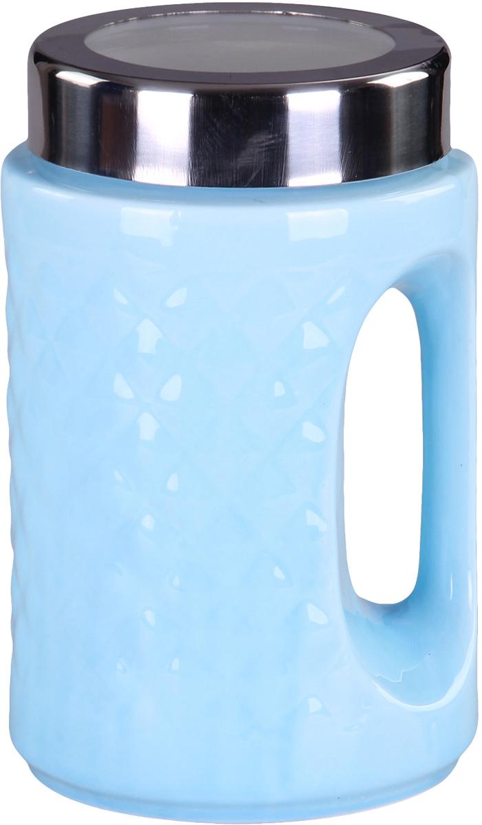 Банка для сыпучих продуктов Patricia. IM99-5237FA-5125 WhiteБанка для сыпучих продуктов Patricia с ручкой, выполнена из керамики высокого качества. В ней можно хранить как соль или сахар, так и различные крупы.