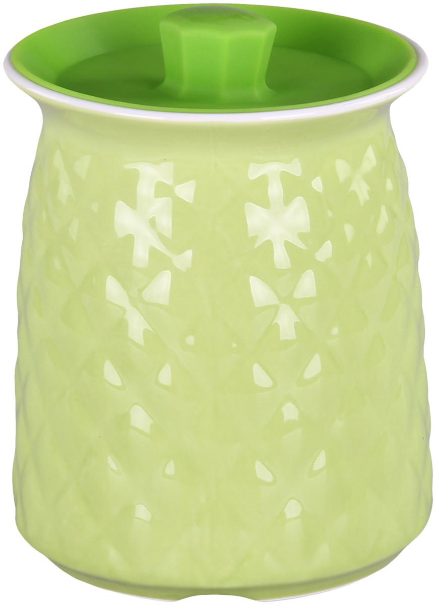 Банка для сыпучих продуктов Patricia. IM99-5248FA-5125 WhiteБанкадля сыпучих продуктов Patricia выполнена из керамики высокого качества. В ней можно хранить как соль или сахар, так и различные крупы.