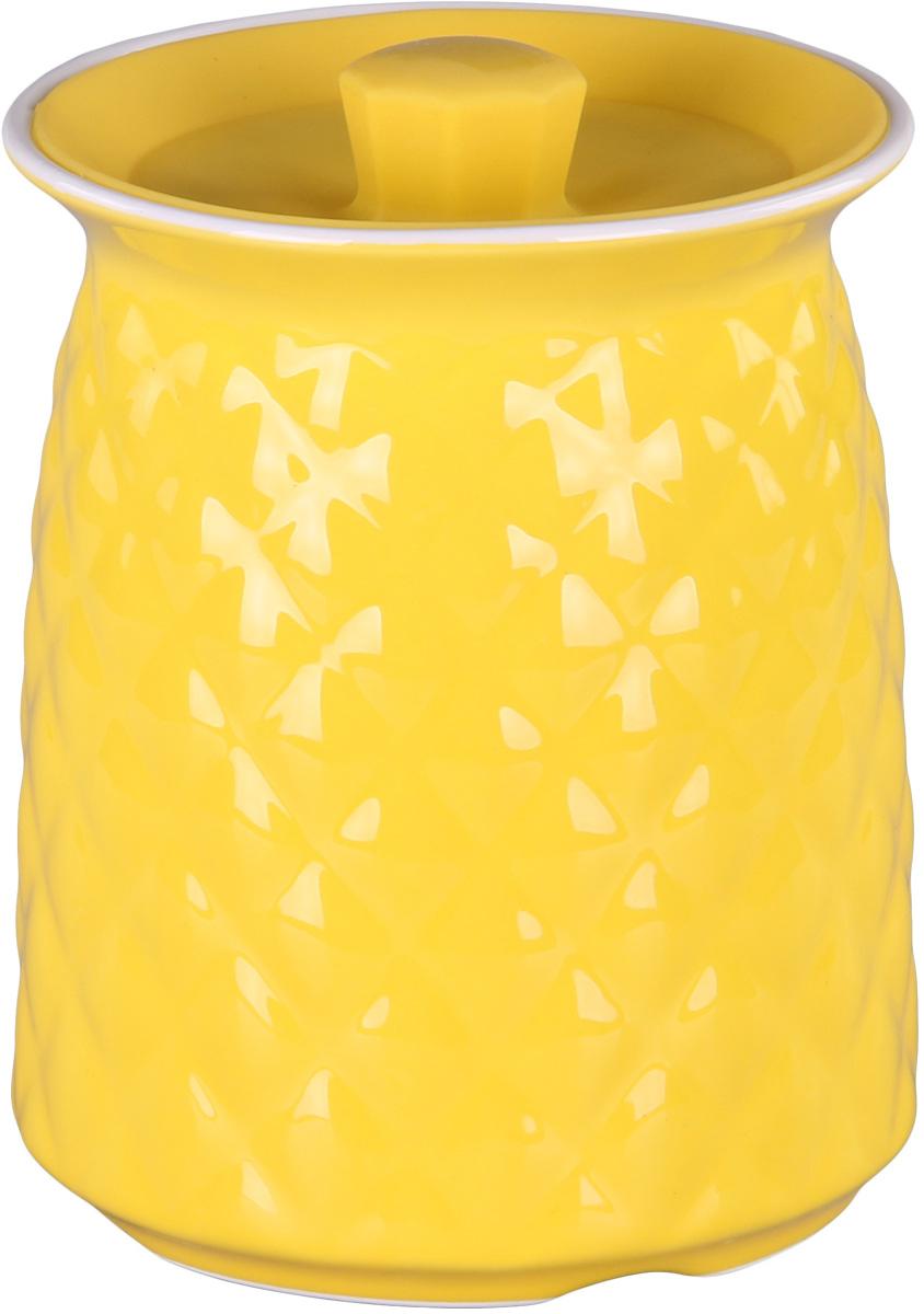 Банка для сыпучих продуктов Patricia. IM99-5249VT-1520(SR)Банкадля сыпучих продуктов Patricia выполнена из керамики высокого качества. В ней можно хранить как соль или сахар, так и различные крупы.