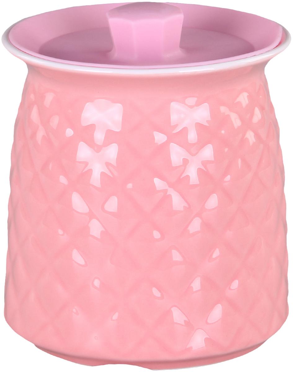 Банка для сыпучих продуктов Patricia. IM99-5251VT-1520(SR)Банкадля сыпучих продуктов Patricia выполнена из керамики высокого качества. В ней можно хранить как соль или сахар, так и различные крупы.