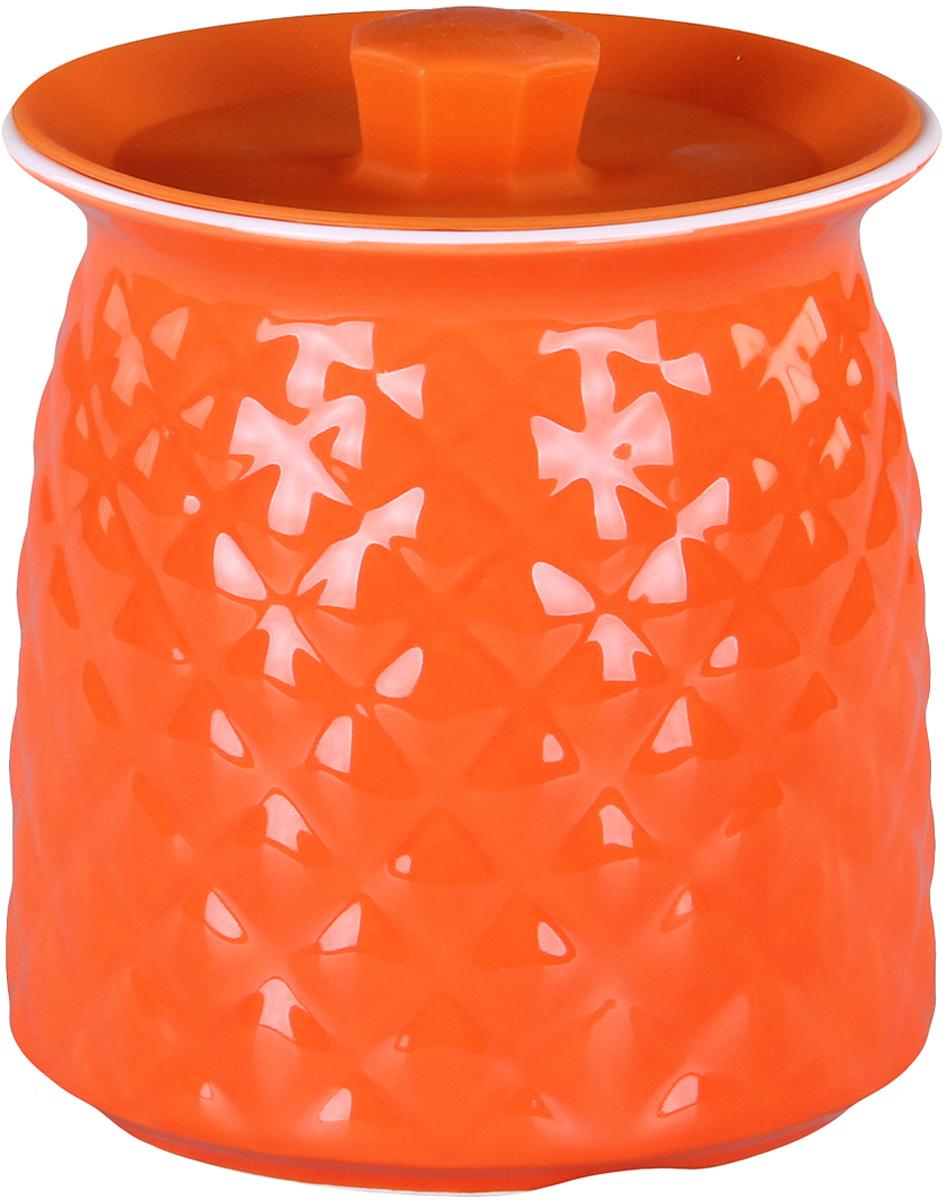 Банка для сыпучих продуктов Patricia. IM99-5255VT-1520(SR)Банкадля сыпучих продуктов Patricia выполнена из керамики высокого качества. В ней можно хранить как соль или сахар, так и различные крупы.
