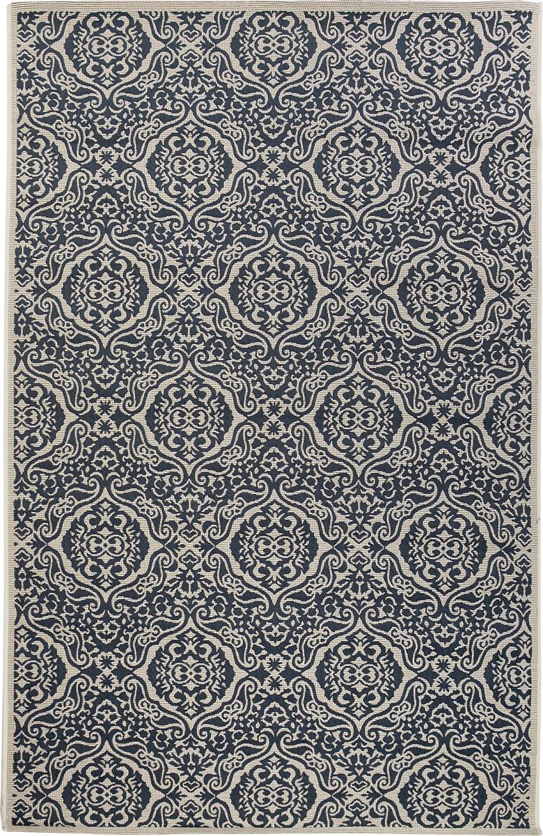 Ковер Oriental Weavers Карлуччи, цвет: бело-голубой, 120 х 180 смTHN132NПрикроватный коврик Oriental Weavers Карлуччи выполнен из текстиля, полиэстера и полипропилена. Изделие долго прослужит в вашем доме, добавляя тепло и уют, а также внесет неповторимый колорит в интерьер любой комнаты.Такой коврик отлично подойдет к вашему интерьеру.