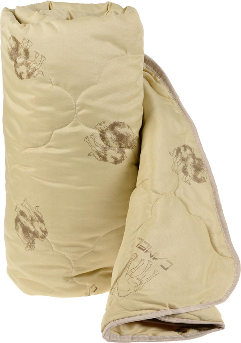 Одеяло Катюша, наполнитель: верблюжья шерсть, 175 х 205 смПВШ02150Одеяло Катюша подарит уютный и комфортный сон. Чехол, выполненный из 100% полиэстера, оформлен фигурной стежкой и надежно удерживает наполнитель внутри. Всесезонное одеяло из верблюжьей шерсти. Наполнитель из верблюжьей шерсти отличается исключительно малым весом, гигроскопичностью и гипоаллергенностью. Верблюжья шерсть оказывает эффект сухого тепла, которое полезно для прогревания болезненных участков тела при радикулите, артрите, остеохондрозе, миозите и бронхите.