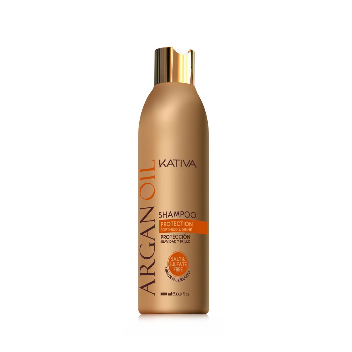 Kativa ARGANA Увлажняющий шампунь с маслом Арганы 250 млMP59.4DШампунь, содержащий чистейшее аргановое масло, отлично очищает волосы, придавая им желанную шелковистость.Активные компоненты, входящие в состав шампуня, возвращают волосам силу, увлажняют и разглаживают по всей длине. Шампунь защищает волосы от пересушивания, вызванного влиянием негативных факторов окружающей среды, а также способствует сохранению цвета окрашенных волос.