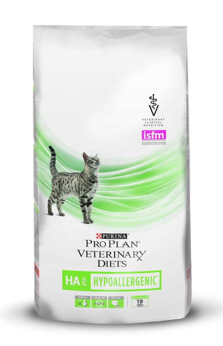"""Корм сухой для кошек Pro Plan """"Veterinary Diets. HА"""", профилактика аллергии, 1,3 кг"""