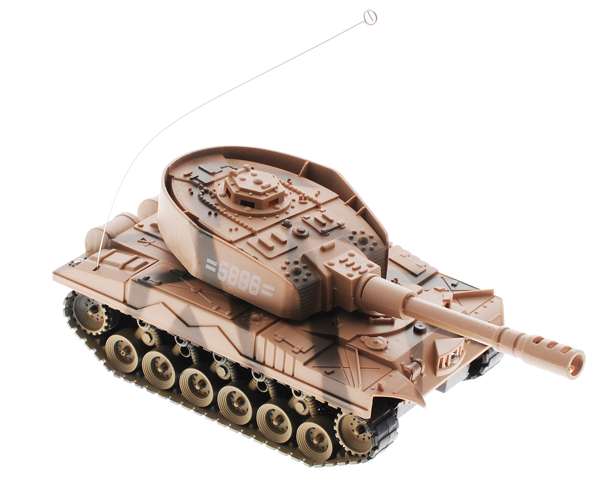 Junfa Toys Танк на радиоуправлении Super Power Panzer