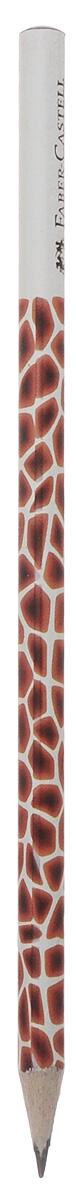 Faber-Castell Чернографитовый карандаш Triangular цвет корпуса белый коричневыйFS-36054Чернографитовый карандаш Faber-Castell Triangular станет не только идеальным инструментом для письма, рисования или черчения, но и дополнит ваш имидж. Трехгранный корпус выполнен из натуральной древесины с бело-черным покрытием. Высококачественный прочный грифель не крошится и не ломается при заточке. Качественная мягкая древесина обеспечивает хорошее затачивание. Степень твердости - B.
