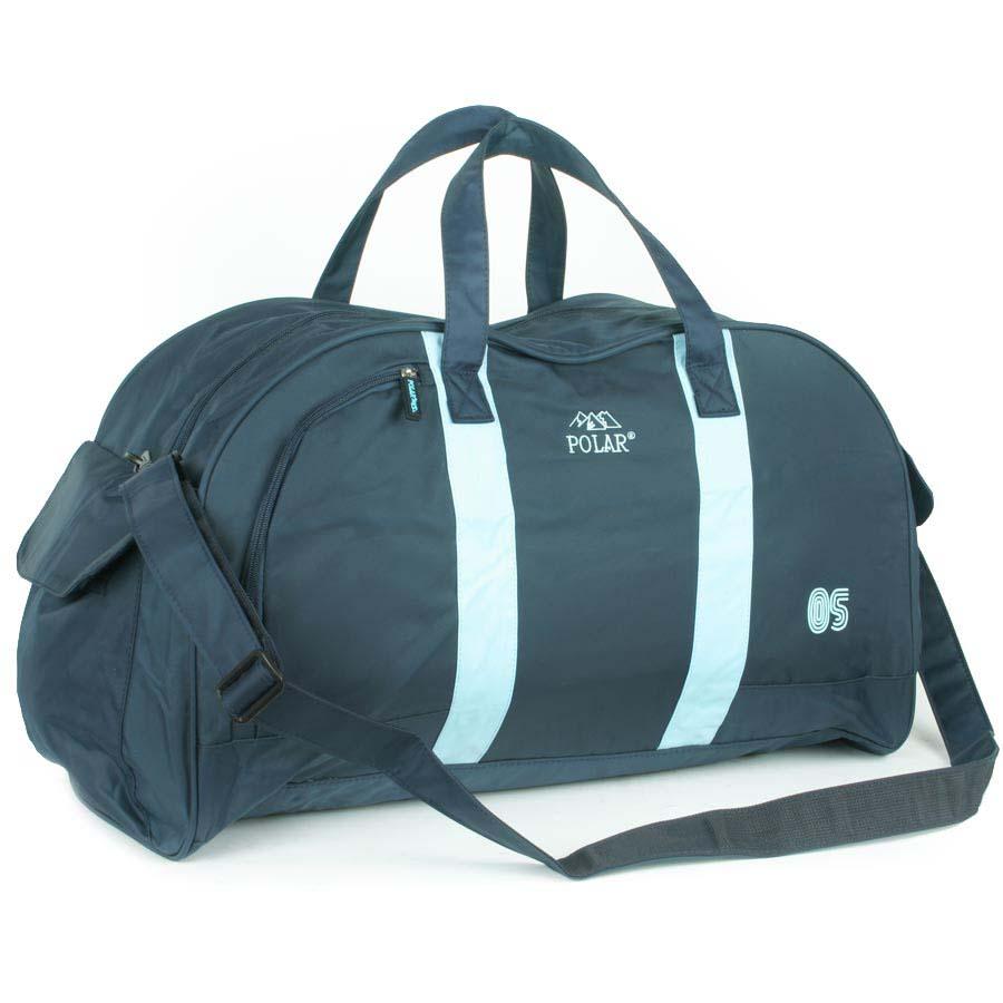 Сумка спортивная Polar, цвет: синий, голубой, 55,5 л. Г-269ML597BUL/DСпортивная сумка Polar выполнена из полиэстера с водоотталкивающей пропиткой.Сумка имеет одно большое отделение. На лицевой стороне и по бокам сумки расположены карманы на молнии. Изделие оснащено двумя удобными текстильными ручками и съемным плечевым ремнем.