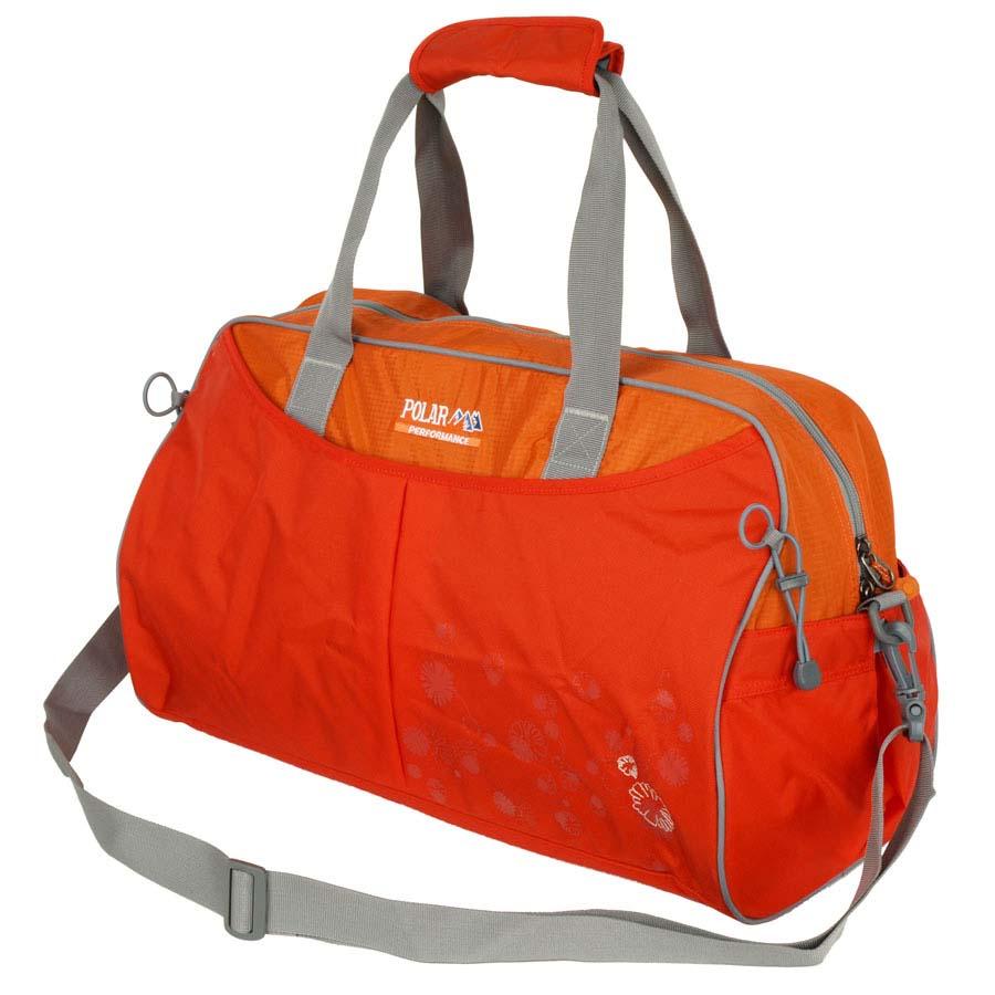Сумка спортивная Polar, 36 л, цвет: оранжевый. П2053-02 orangeA-B86-05-CСпортивная сумка Polar. Одно основное отделение. Внутри карман на молнии, открытый кармашек на липучке, держатель для бутылочки с водой. Снаружи- карман на молнии спереди сумки. Имеется плечевой ремень.