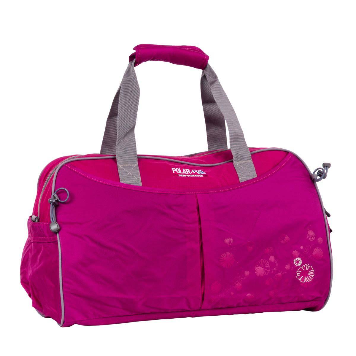 Сумка спортивная Polar, цвет: розовый, 36 л. П2053-29 d.pink1125040Спортивная сумка Polar выполнена из нейлона. Сумка имеет одно большое отделение, внутри которого расположен карман на молнии, открытый кармашек на липучке, держатель для бутылочки с водой. Снаружи - карман на молнии спереди сумки. Изделие оснащено двумя удобными текстильными ручками и съемным плечевым ремнем.