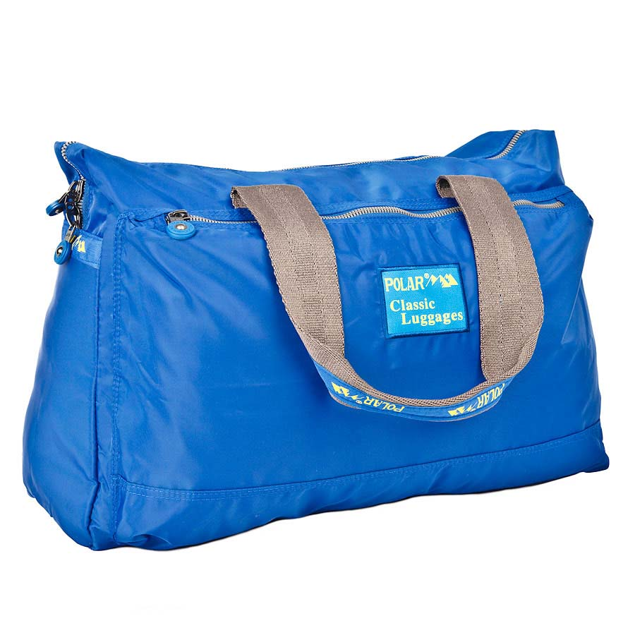 Сумка спортивная Polar, цвет: синий, 22 л. П1288-17П1288-17Спортивная сумка Polar выполнена из полиэстера. Сумка имеет одно большое отделение, внутри которого расположен большой открытый карман и карман на молнии. Изделие оснащено двумя удобными текстильными ручками.