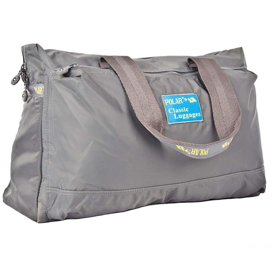 Сумка спортивная Polar, цвет: серый, 22 л. П1288-17KV996OPY/MСпортивная сумка Polar выполнена из полиэстера. Сумка имеет одно большое отделение, внутри которого расположен большой открытый карман и карман на молнии. Изделие оснащено двумя удобными текстильными ручками.