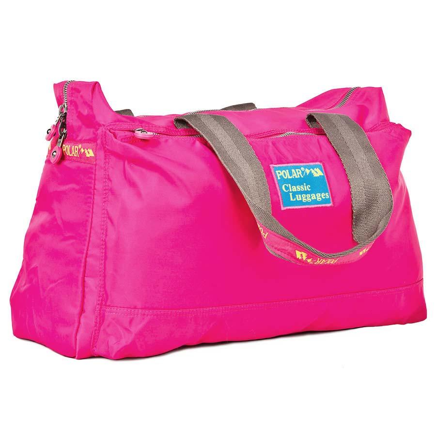 Сумка спортивная Polar, цвет: розовый, 22 л. П1288-17MABLSEH10001Спортивная сумка Polar выполнена из полиэстера. Сумка имеет одно большое отделение, внутри которого расположен большой открытый карман и карман на молнии. Изделие оснащено двумя удобными текстильными ручками.