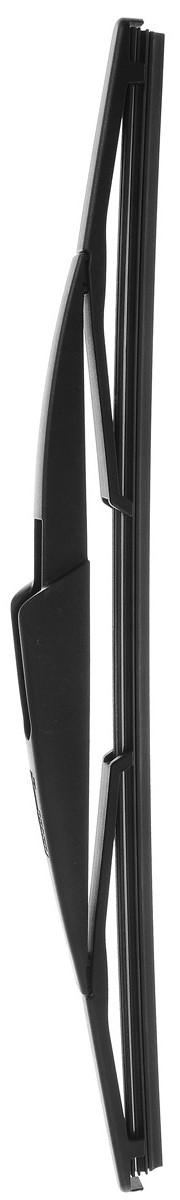 Щетка стеклоочистителя Bosch H370, каркасная, задняя, длина 37 см, 1 штS03301004Щетка Bosch H370, выполненная по современной технологии из высококачественных материалов, предназначена для установки на заднее стекло автомобиля. Отличается высоким качеством исполнения и оптимально подходит для замены оригинальных щеток, установленных на конвейере. Обеспечивает качественную очистку стекла в любую погоду.