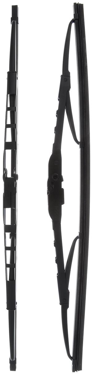 Щетка стеклоочистителя Bosch 400, каркасная, длина 40 см, 2 штS03301004Щетка Bosch 400, выполненная по современной технологии из высококачественных материалов, оптимально подходит для замены оригинальных щеток, установленных на конвейере. Обеспечивает идеальную очистку стекла в любую погоду.Комплектация: 2 шт.TWIN - серия классических каркасных щеток от компании Bosch. Эти щетки имеют полностью металлический каркас с двойной защитой от коррозии и сверхточный профиль резинового элемента с двумя чистящими кромками.