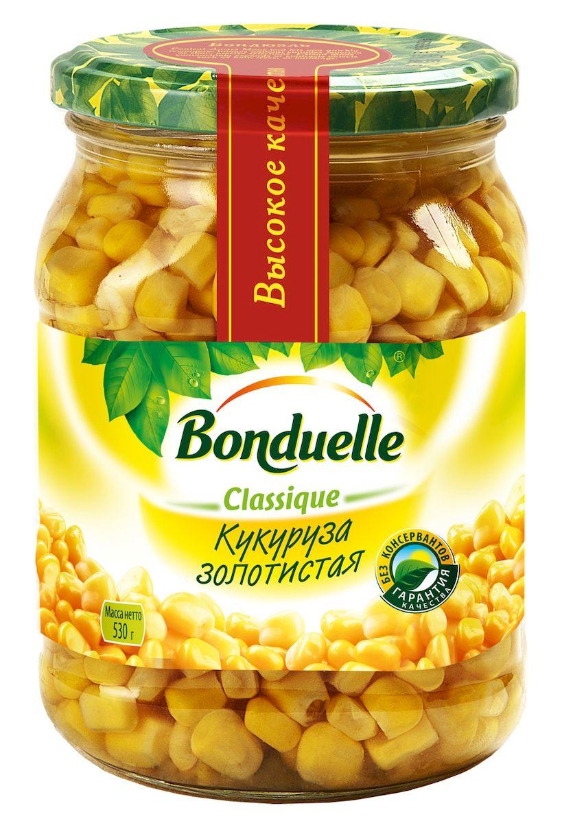 где купить  Bonduelle кукуруза золотистая в зернах, 530 г  по лучшей цене