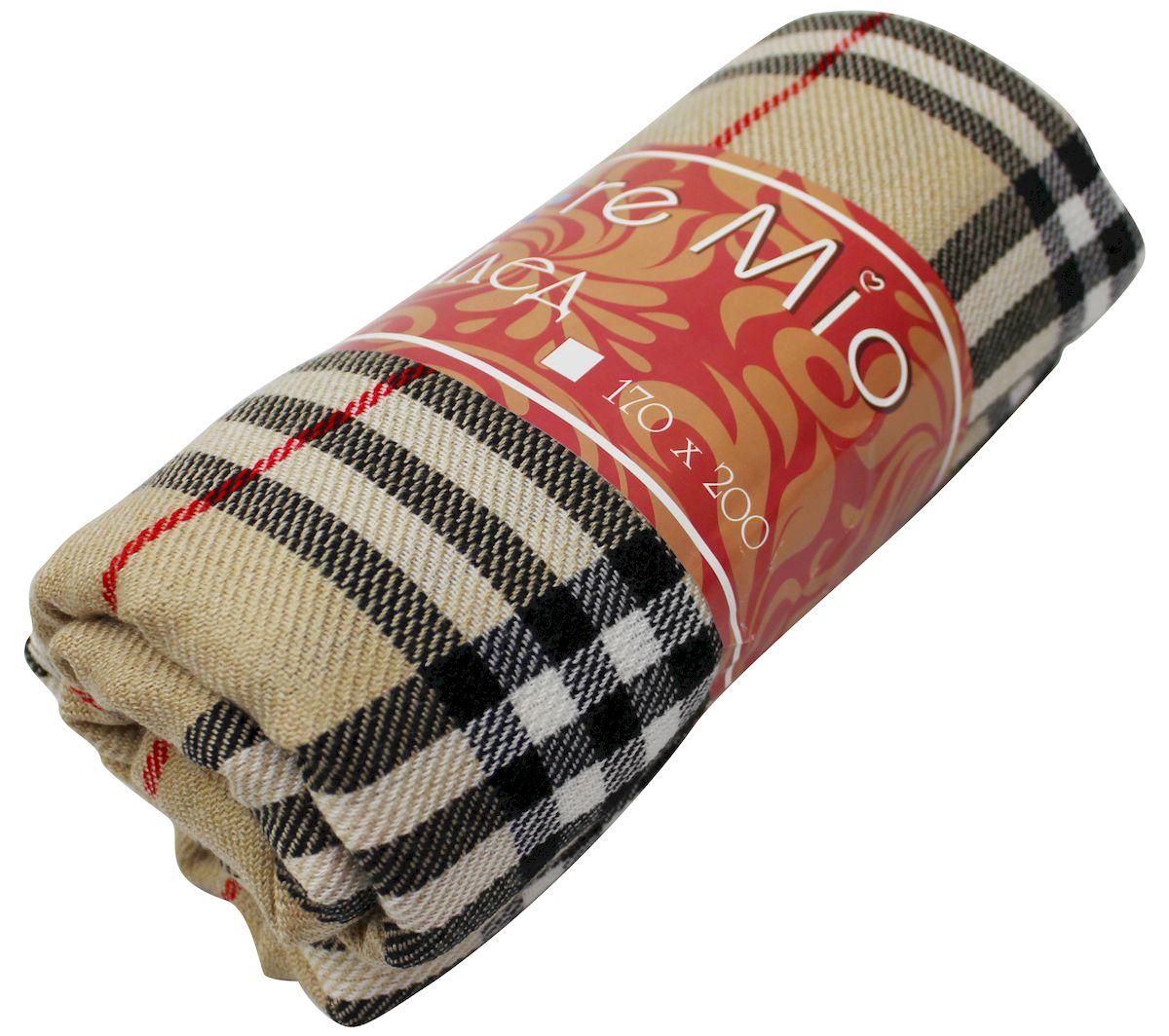 Плед Amore Mio Richard, 170 х 200 см4630003364517Мягкий, теплый и уютный плед с кистями Amore Mio изготовлен из 100% акрила. Не зря в народе за акрилом закрепилось имя искусственной шерсти. Акриловое волокно великолепно удерживает тепло, оно практично и долговечно. Еще одно преимущество - в цене, так как по факту акрил значительно дешевле натуральной шерсти.