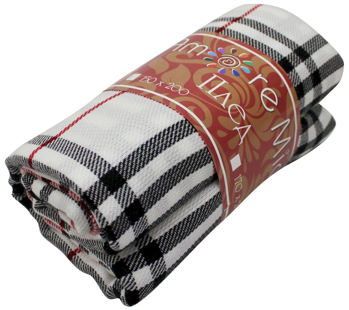 Плед Amore Mio Delicacy, 170 х 200 см1004900000360Мягкий, теплый и уютный плед с кистями Amore Mio Delicacy изготовлен из 100% акрила. Не зря в народе за акрилом закрепилось имя искусственной шерсти. Акриловое волокно великолепно удерживает тепло, оно практично и долговечно. Еще одно преимущество - в цене, так как по факту акрил значительно дешевле натуральной шерсти.