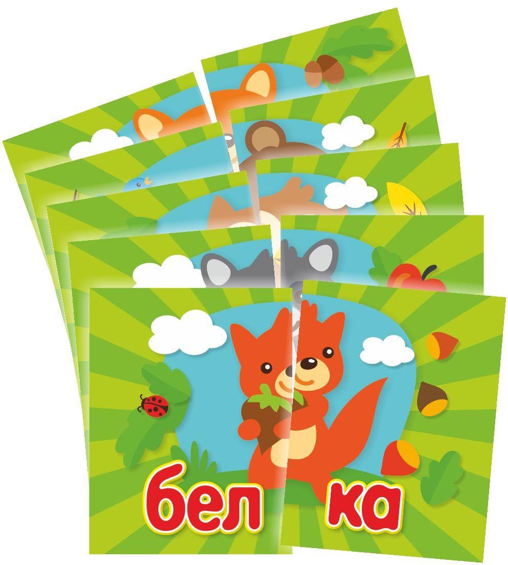 Издательская группа Квадра Обучающие карточки Читаем по слогам