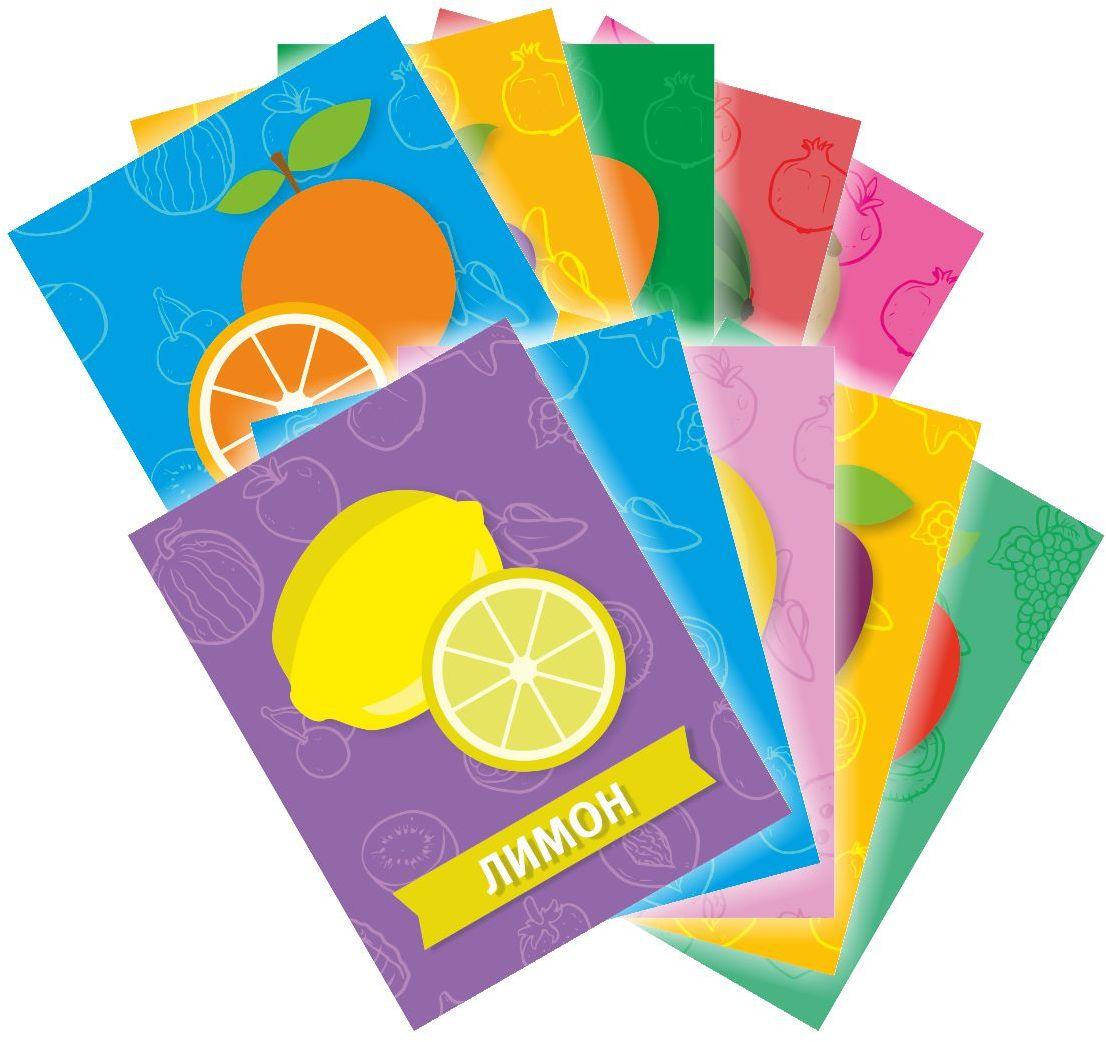 Издательская группа Квадра Обучающие карточки Фрукты