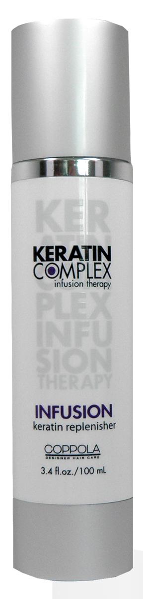 Keratin Complex Кератиновое питание для волос (Infusion), 102 млMP59.3DГлубоко наполняет волосы белками кератина, защищает от внешних воздействий и ультрафиолетовых лучей. Это одно из средств, которое стоит применять после кератинового выпрямления волос. Восстанавливает, укрепляет, возвращает силу любому типу волос.