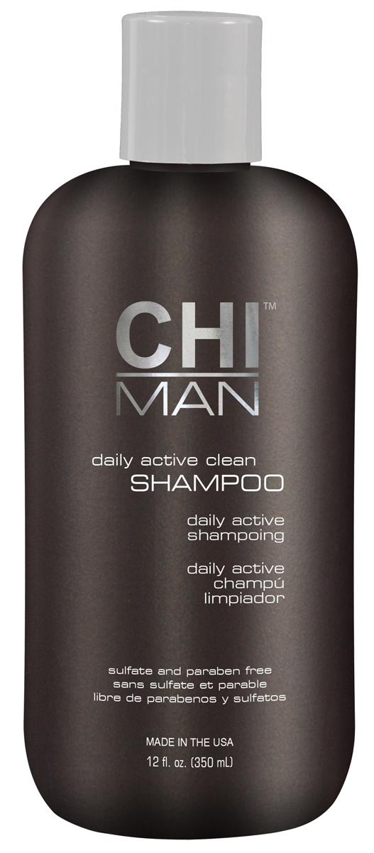 CHI Шампунь для мужчин Man 350 млSatin Hair 7 BR730MNШампунь, разработанный с учетом особенностей волос и кожи головы у мужчин. Содержит экстракты растительных ингредиентов. Мягко, но эффективно очищает волосы и кожу головы. Не утяжеляет. Подходит для ежедневного применения.