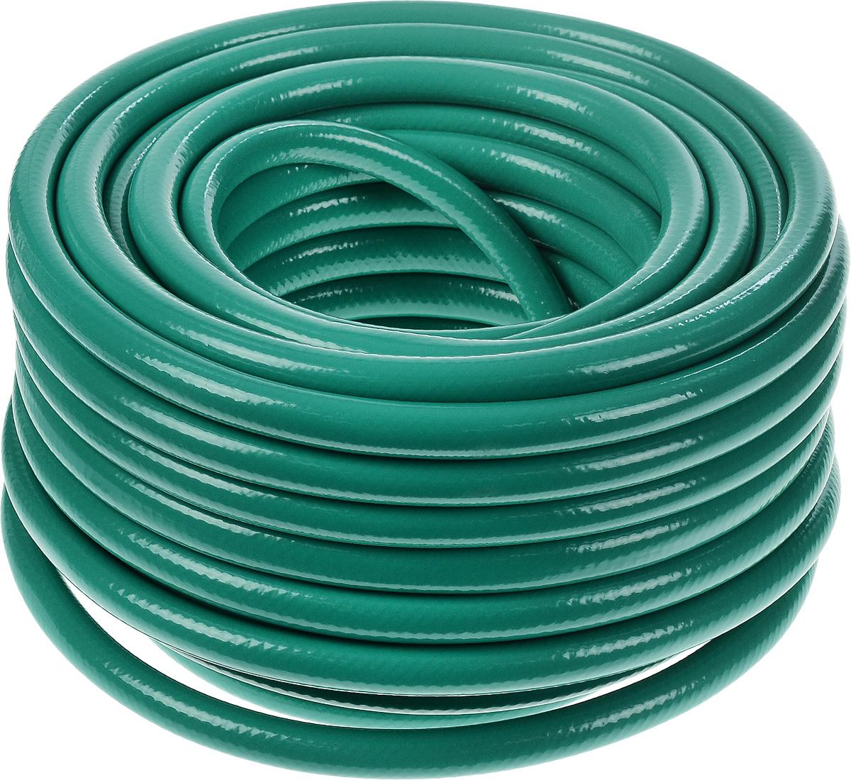 Шланг Fitt Agrifort, пятислойный, диаметр 1,25 см, длина 25 м011H1800Пятислойный армированный шланг Fitt Agrifort предназначен для сельскохозяйственных и строительных работ. Внешний слой изготовлен из непрозрачного ПВХ, который препятствует образованию микроорганизмов и плесени внутри шланга, и отличается стойкостью к УФ-лучам.Длина шланга: 25 м.Внутренний диаметр шланга: 12,5 мм.Толщина стенки шланга: 2 мм. Максимальное рабочее давление: 12 бар.Срок службы:12 лет.