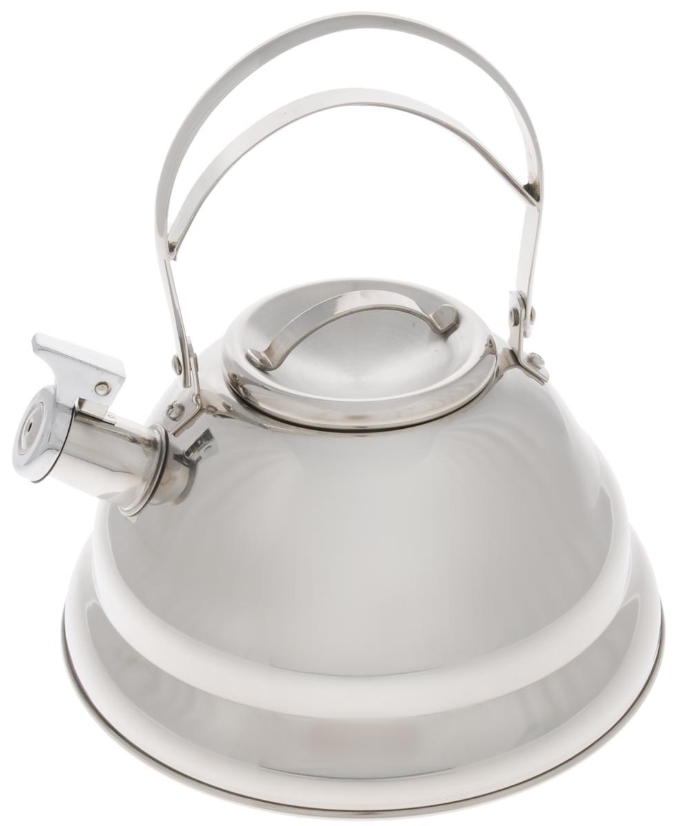 Чайник Mayer & Boch, со свистком, 3,7 л. 3288VT-1520(SR)Чайник Mayer & Boch выполнен из долговечной и прочной нержавеющей стали, что делает его весьма гигиеничным и устойчивым к износу при длительном использовании. Гладкая и ровная поверхность существенно облегчает уход за посудой. Выполненный из качественных материалов чайник при кипячении сохраняет все полезные свойства воды. Изделие оснащено свистком, благодаря которому вы можете не беспокоиться о том, что закипевшая вода зальет плиту. Как только вода закипит - свисток оповестит вас об этом.Удобный и практичный чайник отлично впишется в интерьер любой кухни.Подходит для всех типов плит, включая индукционные. Можно мыть в посудомоечной машине.Высота чайника (без учета ручки и крышки): 12,5 см. Высота чайника (с учетом ручки и крышки): 25 см. Диаметр основания: 24 см.Диаметр индукционного диска: 17,5 см.Диаметр (по верхнему краю): 10 см.