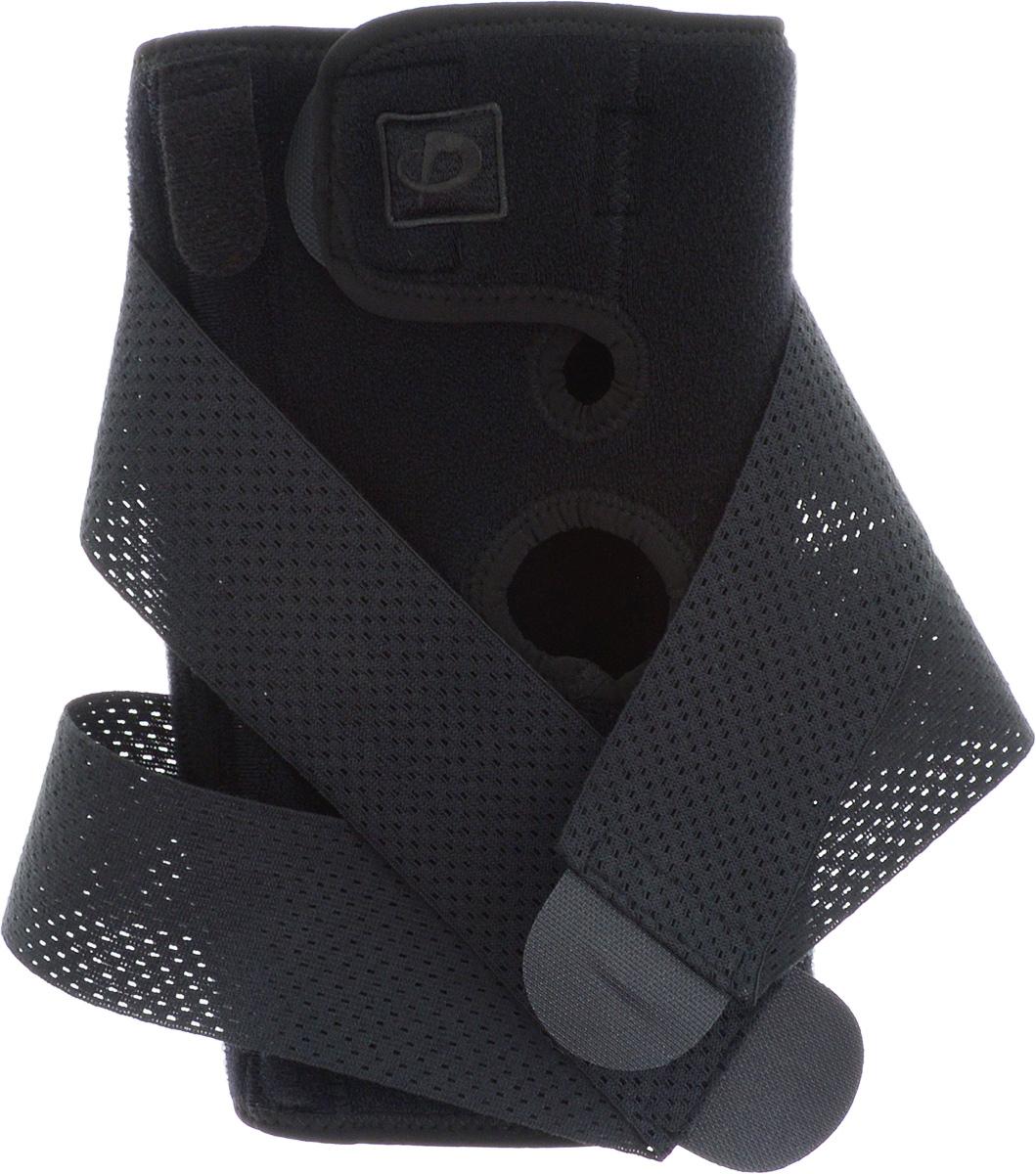 Суппорт колена Phiten Hard Type. Размер М (42-48 см)AIRWHEEL Q3-340WH-BLACKСуппорт колена Phiten Hard Type обеспечивает мягкую фиксацию сустава, активное воздействие на проприоцепторы, снятие суставного, связочного и мышечного напряжения, облегчение болевых ощущений. Показания к применению: все виды воспаления коленного сустава, растяжение мышц и связок коленного сустава, бурситы, хронические дегенеративные заболевания суставов, артроз коленного сустава, артрит и остеоартрит, пателлофеморальный болевой синдром. Жесткая, но регулируемая благодаря специальному ремню фиксация этого суппорта идеально подходит для ношения в течение всего дня или при восстановлении после травм коленного сустава, мышц и связок. Благодаря специальной пропитке акватитаном, пояс способствует скорейшему восстановлению после травмы. Материал: наружная часть: нейлон 93%, полиуретан 7%; внутренняя часть: нейлон 80%, полиуретан 20%; липучка: полиэстер 100%; акватитан, аквапалладий. Обхват колена: 42-48 см.