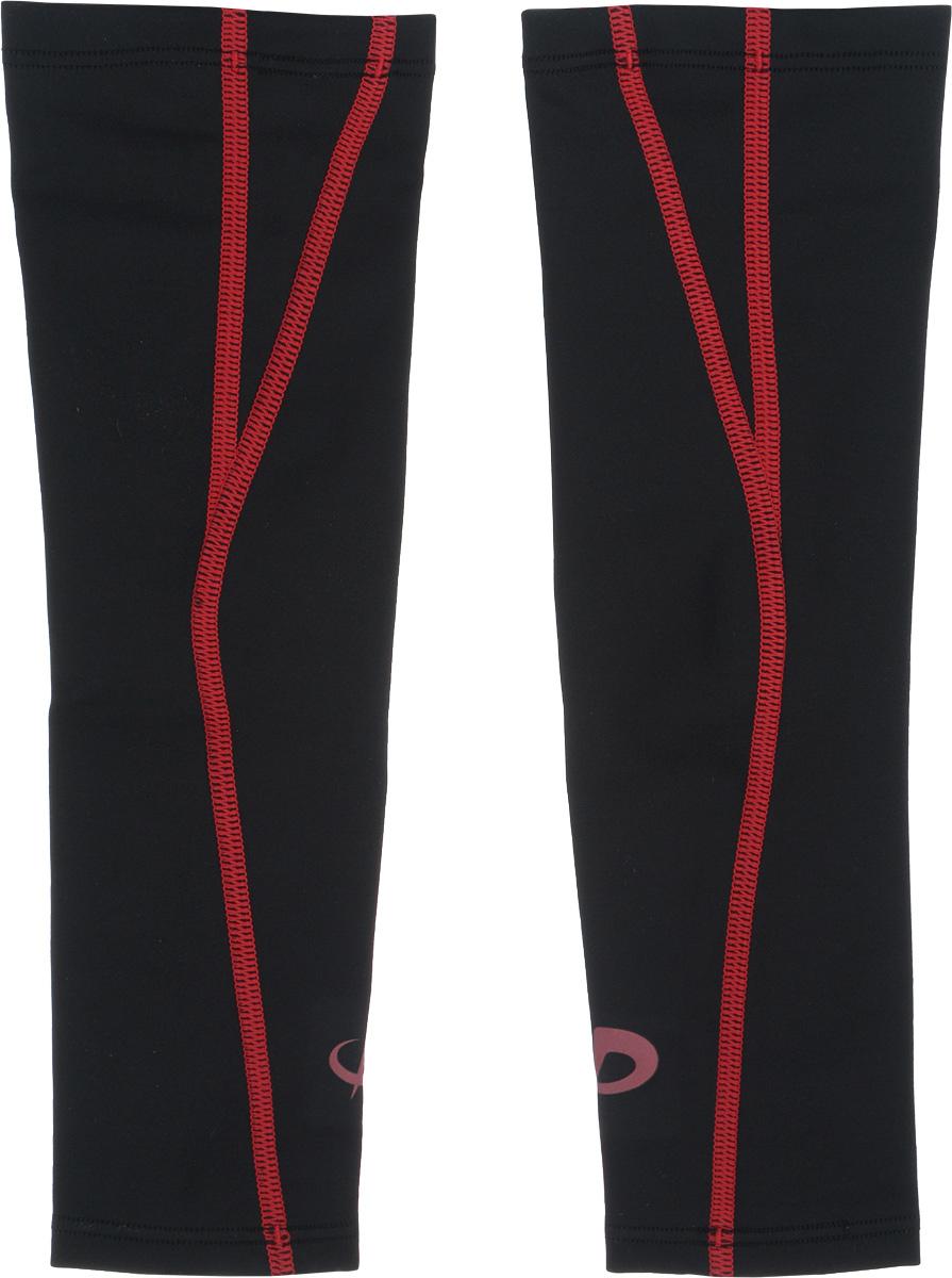 Рукав силовой Phiten X30, цвет: черный, красный, 2 шт. Размер S (19-25 см)AIRWHEEL Q3-340WH-BLACKСиловой рукав Phiten X30, выполненный из 85% полиэстера и 15% полиуретана, идеально подходит для поддержки и увеличения силы мышц (плеча/предплечья) спортсменов. Рукав снимает мышечное напряжение, повышает выносливость и силу мышц. Он мягко фиксирует суставы, но при этом абсолютно не стесняет движения.Благодаря пропитке из акватитана с фактором X30, рукав увеличивает эластичность мышц и связок, а также хорошо поглощает и испаряет пот, что позволяет продлить ощущение комфорта при тренировках.Изделие специально разработано таким образом, чтобы соответствовать форме руки и обеспечить плотное прилегание, а благодаря инновационным материалам, рукав действительно поможет вам в процессе тяжелой тренировки или любой серьезной нагрузки.Силовой рукав Phiten X30 способствует:- улучшению циркуляции крови в организме;- разгрузке поврежденного сустава; - уменьшению усталости;- снятию излишнего напряжения и скорейшему восстановлению сил;- обеспечивает компрессионный эффект.Обхват предплечья: 19-25 см. Длина рукава: 30 см. Комплектация: 2 шт.
