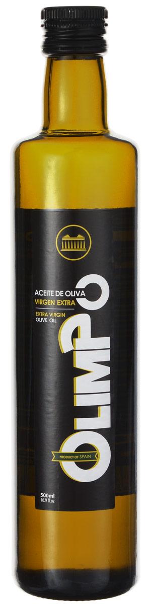 Olimpo Extra Virgin масло оливковое, 0,5 л11124Olimpo Extra Virgin - нерафинированное оливковое масло первого холодного отжима лимитированного выпуска. Кислотность - 0,2%. Обладает мягким вкусом и приятным ароматом.Olimpo производит масло с 1954 года, а название происходит от горы Олимп из Древней Греции. Производитель руководствуется древнегреческой пословицей: в здоровом теле здоровый дух.