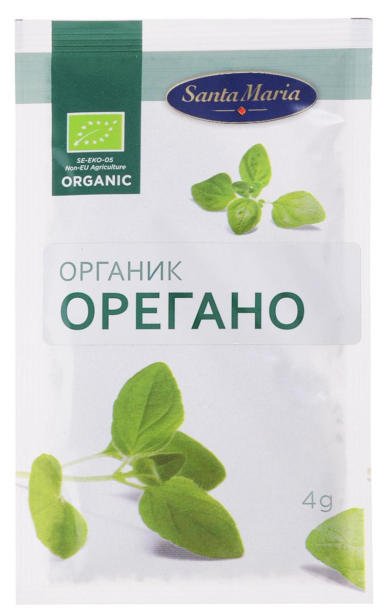 Santa Maria Орегано (душица) Органик, 4 г0120710Santa Maria Орегано (душица) – это сушеные листья растения, которым присущ приятный, тонкий запах и пряный, горьковатый вкус. Орегано возбуждает аппетит и облегчает пищеварение. Специя - желанный ингредиент многих пряных смесей, прекрасно сочетается с черным перцем, базиликом, розмарином, эстрагоном, фенхелем, анисом, тимьяном и своим ближайшим родственником майораном. Орегано добавляют в мясо, рыбу, птицу, дичь, паштеты, всевозможные начинки из фарша и ливера, домашние колбасы, соусы и подливы. В орегано есть эфирные масла: карвакрол, тимол, терпены; аскорбиновая кислота, дубильные вещества. Он обладает бактерицидными и дезинфицирующими свойствами.
