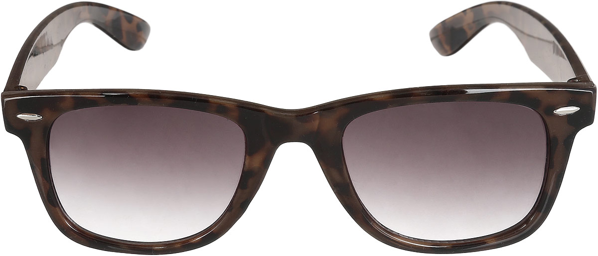 Очки солнцезащитные женские Top Secret, цвет: коричневый. SOK0200BROS913мСтильные солнцезащитные очки Top Secret, выполнены из высококачественного пластика и элементов из металлического сплава.Пластик, используемый при изготовлении линз, обладает высокой ударопрочностью, не искажает изображение, не подвержен нагреванию и вредному воздействию солнечных лучей.Оправа очков легкая, прилегающей формы и поэтому обеспечивает максимальный комфорт. Оправа оформлена анималистическим принтом.Такие очки защитят глаза от ультрафиолетовых лучей, подчеркнут вашу индивидуальность и сделают ваш образ завершенным.