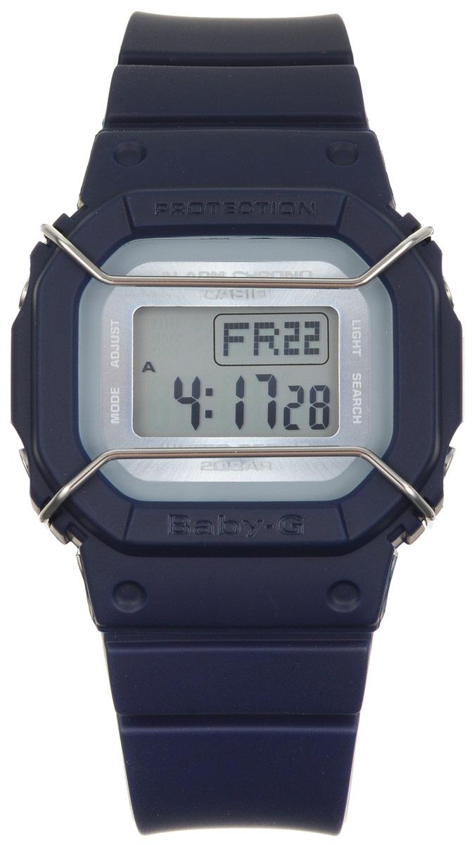 Часы наручные Casio Baby-G, цвет: темно-синий. BGD-501UM-2EBM8434-58AEМногофункциональные часы Casio Baby-G, выполнены из минерального стекла и полимерного материала. Часы оформлены символикой бренда.Электронные часы оснащены имеют степень влагозащиты равную 20 BAR.Браслет часов оснащен застежкой-пряжкой, которая позволит с легкостью снимать и надевать изделие. Корпус часов оснащен электролюминесцентной подсветкой.Дополнительные функции: таймер, будильник, функция повтора будильника, секундомер, функция мирового времени, автоматический календарь.Часы поставляются в фирменной упаковке.Многофункциональные часы Casio Baby-G станут незаменимым аксессуаром.