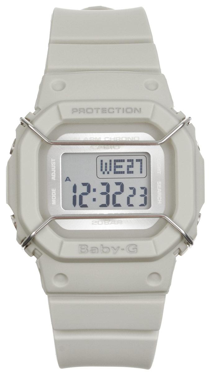 Часы наручные Casio Baby-G, цвет: светло-серый. BGD-501UM-8EBM8434-58AEМногофункциональные часы Casio Baby-G, выполнены из минерального стекла и полимерного материала. Часы оформлены символикой бренда.Электронные часы имеют степень влагозащиты равную 20 BAR.Браслет часов оснащен застежкой-пряжкой, которая позволит с легкостью снимать и надевать изделие. Корпус часов оснащен электролюминесцентной подсветкой.Дополнительные функции: таймер, будильник, функция повтора будильника, секундомер, функция мирового времени, автоматический календарь.Часы поставляются в фирменной упаковке.Многофункциональные часы Casio Baby-G станут незаменимым аксессуаром.