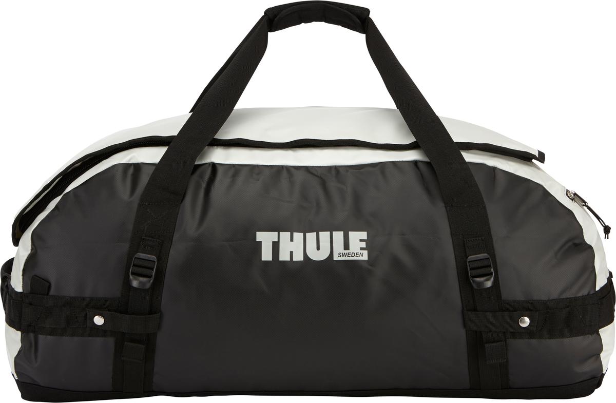 Туристическая сумка-баул Thule Chasm L, цвет: серый, 90лГризлиThule Chasm Large - Эти жесткие, устойчивые к неблагоприятным погодным условиям сумки с широко раскрывающимся основным отделением и съемными ремнями — ваши надежные спутники в любой поездке. Широко раскрывающееся отделение делает загрузку оборудования в сумку очень удобным. Боковые замки делают доступ к основному отделению удобным с любого угла Ремни складываются вдоль боковых сторон сумки. Ремни быстро превращают рюкзак в сумку. Прочная водонепроницаемая брезентовая ткань для удобной укладки вещей, которая легко складывается для хранения. Внутренние сетчатые карманы сохранят ваши вещи в порядке. Внешние фиксирующие ремни предотвращают содержимое сумки от падения на дно, когда она используется как рюкзак. Уплотненная нижняя часть сумки обеспечивает мягкое соприкосновение с землей. Блокировка застежки-молнии для защиты от воров (замок продается отдельно). Внешний сетчатый карман для небольших предметов.