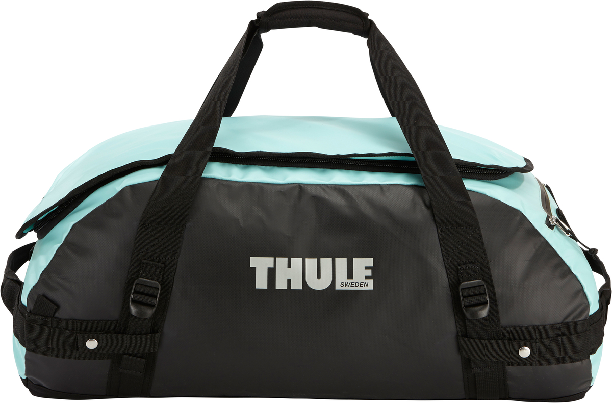 Туристическая сумка-баул Thule  Chasm M , цвет: голубой, черный, 70 л - Туристические сумки