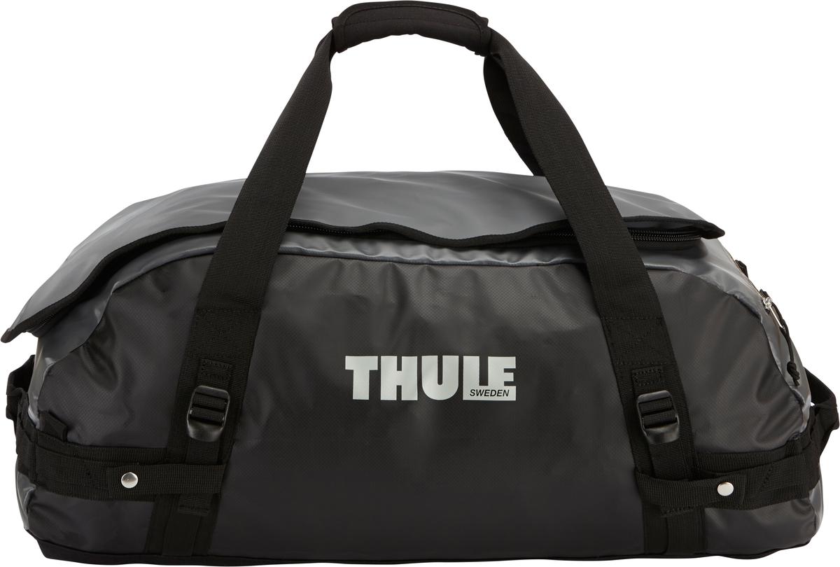 Туристическая сумка-баул Thule Chasm M, цвет: темно-серый, 70лMABLSEH10001Thule Chasm Medium - Эти жесткие, устойчивые к неблагоприятным погодным условиям сумки с широко раскрывающимся основным отделением и съемными ремнями — ваши надежные спутники в любой поездке. Широко раскрывающееся отделение делает загрузку оборудования в сумку очень удобным. Боковые замки делают доступ к основному отделению удобным с любого угла Ремни складываются вдоль боковых сторон сумки. Ремни быстро превращают рюкзак в сумку. Прочная водонепроницаемая брезентовая ткань для удобной укладки вещей, которая легко складывается для хранения. Внутренние сетчатые карманы сохранят ваши вещи в порядке. Внешние фиксирующие ремни предотвращают содержимое сумки от падения на дно, когда она используется как рюкзак. Уплотненная нижняя часть сумки обеспечивает мягкое соприкосновение с землей. Блокировка застежки-молнии для защиты от воров (замок продается отдельно). Внешний сетчатый карман для небольших предметов.