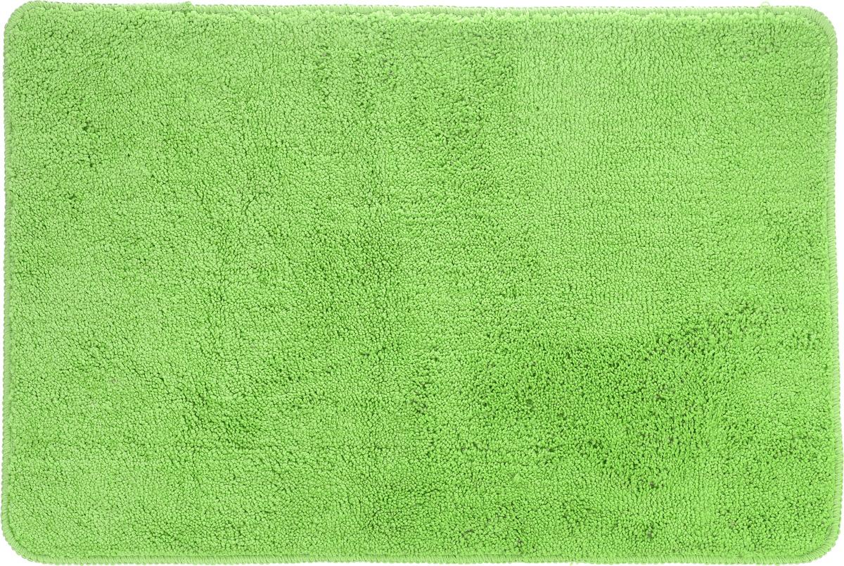 Коврик для ванной комнаты Aqva Line Лето, цвет: салатовый, 50 х 75 см25051 7_зеленыйКоврик для ванной комнаты Aqua Line Лето, выполненный из мягкой микрофибры, хорошо впитывает влагу, быстро высыхает, сохраняет первоначальные свойства даже при многочисленных стирках. Благодаря специальной основе из латекса не скользит на гладких и влажных поверхностях. Коврик имеет прошитый кант по периметру. Мягкий цветной коврик Aqua Line Лето создаст атмосферу уюта в вашей ванной комнате.