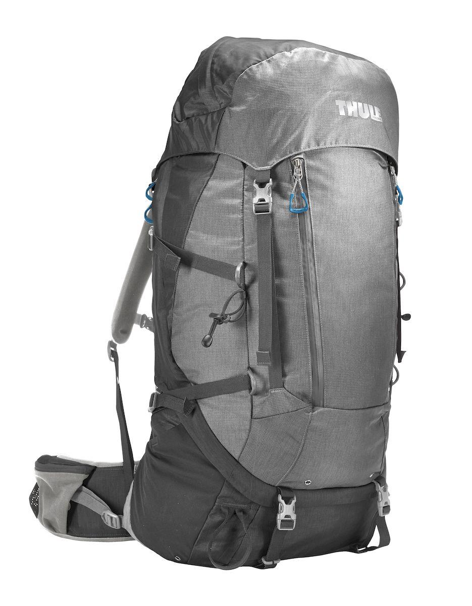 Рюкзак треккинговый женский Thule Guidepost, цвет: серый, 65л206502Удобный треккинговый жеснкий рюкзак Thule Guidepost отличается настраиваемой системой крепления TransHub, обеспечивающей идеальную посадку, поворачивающимся набедренным ремнем, который позволяет рюкзаку повторять ваши движения, специальными наплечными и набедренными ремнями для женщин и крышкой, способной трансформироваться в дополнительный рюкзак, который поможет вам покорить любую вершину.Легкая регулировка ремней для торса на 15 см обеспечивает идеальную посадку, а наплечные ремни QuickFit позволяют выбрать из один из трех вариантов длины наплечных ремней. Система крепления Transhub с алюминиевой опорой и проволочным каркасом из пружинной стали позволяют перенести вес рюкзака на бедра, обеспечивая более удобную переноску. Поворачивающийся набедренный ремень позволяет рюкзаку повторять ваши движения, обеспечивая большую естественность передвижения и улучшенный баланс. Съемная крышка трансформируется в просторный рюкзак 24 л, позволяя сочетать два рюкзака в одном. Удобный доступ к содержимому рюкзака благодаря большой J-образной застежке на молнии на боковой панели. Воздухопроницаемая задняя панель обеспечивает поддержку в главных точках соприкосновения, но при этом позволяет воздуху циркулировать и не дает вам потеть. Два больших передних кармана на застежках-молниях предназначены для хранения часто используемых предметов. Удобное хранение треккинговых палок или ледоруба при помощи двух петель-креплений. Два кармана на набедренном ремне с застежками-молниями и эластичные боковые карманы позволяют хранить бутылки, еду и другие мелкие предметы. Конструкция, предназначенная для хранения воды, включает внешний карман для бутылки с водой и обеспечивает удобный доступ к ней.