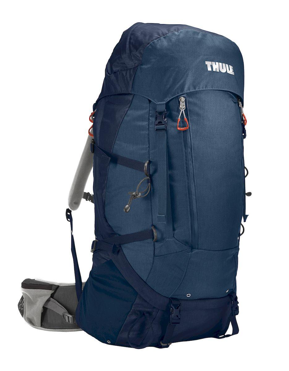 Рюкзак треккинговый мужской Thule Guidepost, цвет: темно-синий, 65 л206301Мужской туристический рюкзак Thule Guidepost 65 л - Удобный рюкзак для двухдневных/недельных путешествий Thule Guidepost 65 л отличается настраиваемой системой крепления TransHub, обеспечивающей идеальную посадку, поворачивающимся набедренным ремнем, который позволяет рюкзаку повторять ваши движения, и крышкой, способной трансформироваться в дополнительный рюкзак, который поможет вам покорить любую вершину.Легкая регулировка ремней для торса на 15 см обеспечивает идеальную посадку, а наплечные ремни QuickFit позволяют выбрать из один из трех вариантов длины наплечных ремнейСистема крепления Transhub с алюминиевой опорой и проволочным каркасом из пружинной стали позволяют перенести вес рюкзака на бедра, обеспечивая более удобную переноску Поворачивающийся набедренный ремень позволяет рюкзаку повторять ваши движения, обеспечивая большую естественность передвижения и улучшенный балансСъемная крышка трансформируется в просторный рюкзак 24 л, позволяя сочетать два рюкзака в одном Удобный доступ к содержимому рюкзака благодаря большой J-образной застежке на молнии на боковой панелиВоздухопроницаемая задняя панель обеспечивает поддержку в главных точках соприкосновения, но при этом позволяет воздуху циркулировать и не дает вам потеть. Два больших передних кармана на застежках-молниях предназначены для хранения часто используемых предметов Удобное хранение трекинговых палок или ледоруба при помощи двух петель-креплений Два кармана на набедренном ремне с застежками-молниями и эластичные боковые карманы позволяют хранить бутылки, еду и другие мелкие предметы Конструкция, предназначенная для хранения воды, включает внешний карман для бутылки с водой и обеспечивает удобный доступ к ней (бутылка продается отдельно)